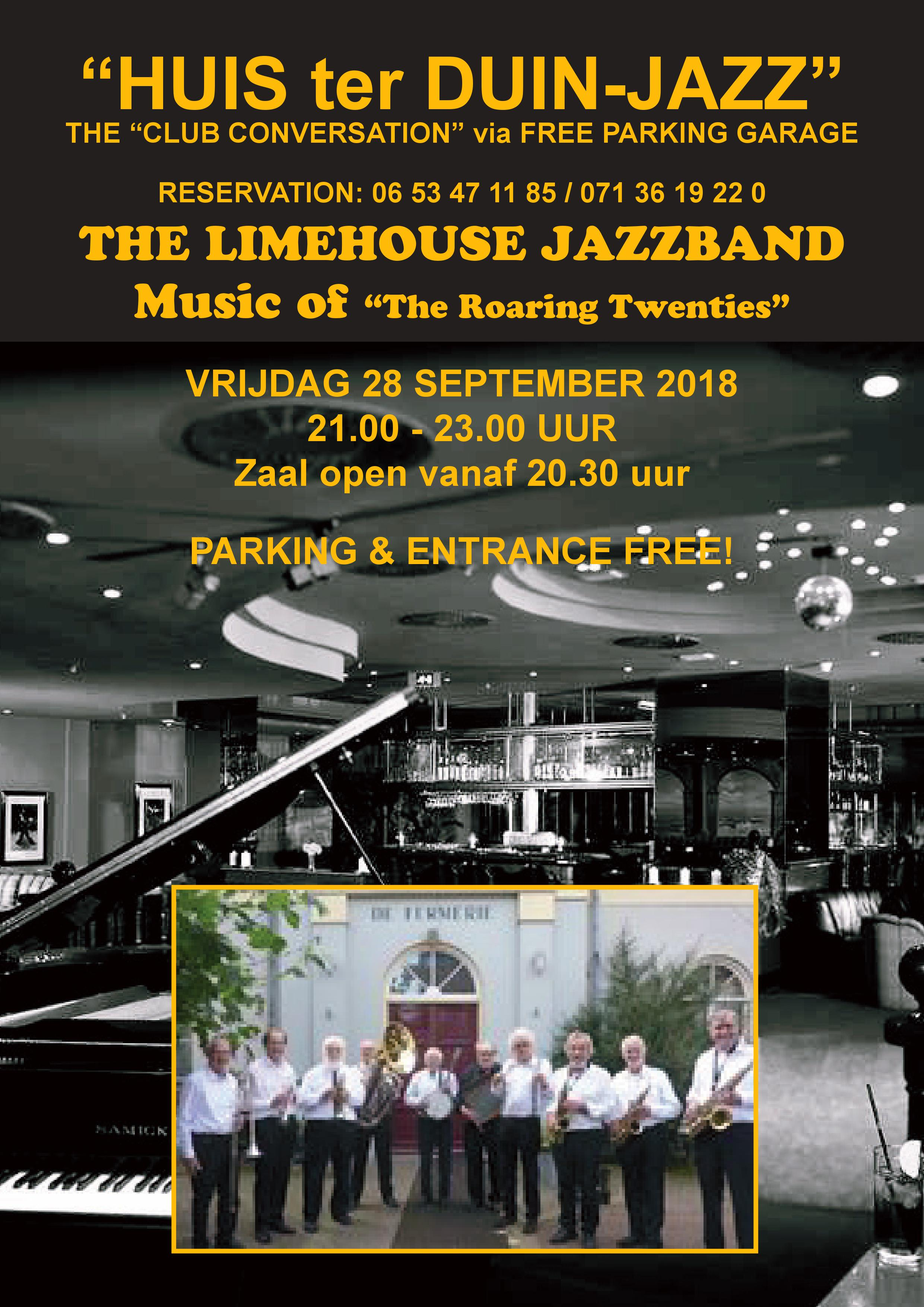 Poster Limehouse Jazzband JPG